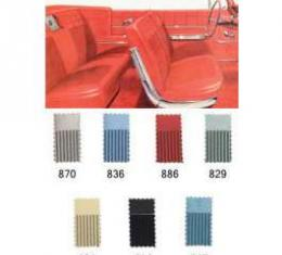 Full Size Chevy Seat Cover Set, Impala Convertible, 1962