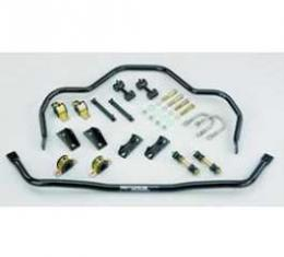 Full Size Chevy Performance Sway Bar Kit, With 605 Steering, Front & Rear, 1959-1964
