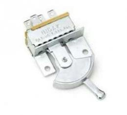 Full Size Chevy Heater Switch, For Cars With Air Conditioning, 1965-1966
