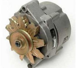 Full Size Chevy Alternator, With External Regulator, Rebuilt, 55 Amp,1958-1972