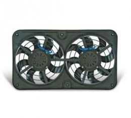 Full Size Chevy Electric Cooling Fans, S Blades, X-Treme, Flex-A-Lite, 1959-1967