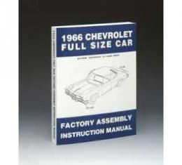 Full Size Chevy Factory Assembly Manual, 1966