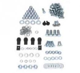 Full Size Chevy Bumper Mounting Kit, Front, 1964