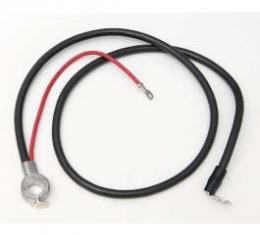 Full Size Chevy Battery Cable, Positive, 6-Cylinder, 1966