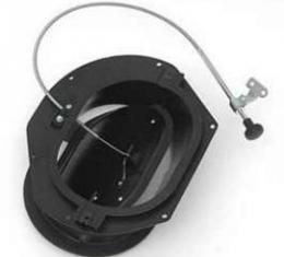 Full Size Chevy Fresh Air Vent Assembly, With Cable & Black Knob, Right, All Except Impala, 1964