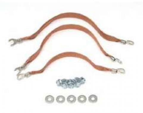 Full Size Chevy Ground Strap Kit, 1965-1966