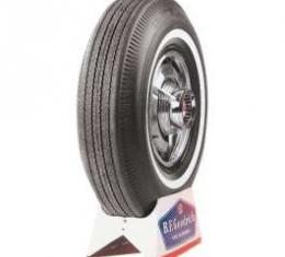 Full Size Chevy Tire, 7.50 x 14, With 1 Whitewall, B.F. Goodrich Bias Ply, 1962-1964