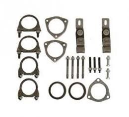 Full Size Chevy Installation Kit, Single Exhaust, 2, 1965-1970