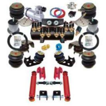 Full Size Chevy Air Ride Suspension Kit, Complete, 1965-1970