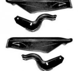 Full Size Chevy Front Bumper Bracket Set, 1966