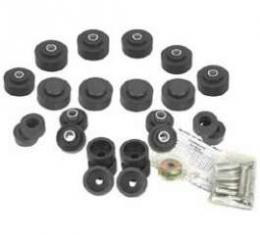 Full Size Chevy Body Mounting Set, Convertible, 1969-1970