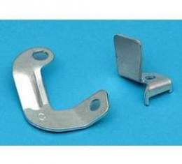 Full Size Chevy Overdrive Transmission Kickdown Switch Bracket & Actuator, With 2-Barrel Carburetor, 1958-1964