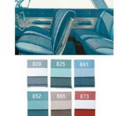 Full Size Chevy Seat Cover Set, 4-Door Hardtop, Impala, 1961