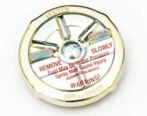 Full Size Chevy Gas Cap, Vented, 1958-1963