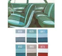 Full Size Chevy Seat Cover Set, 4-Door Sedan, Impala, 1961