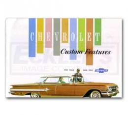 Full Size Chevy Custom Features Manual, 1960