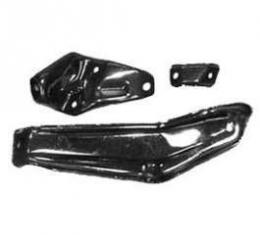 Full Size Chevy Front Bumper Bracket Set, Right, 1964