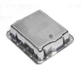 Full Size Chevy Automatic Transmission Pan, Turbo Hydra-Matic 700R4 (TH700R4), Chrome, 1958-1972