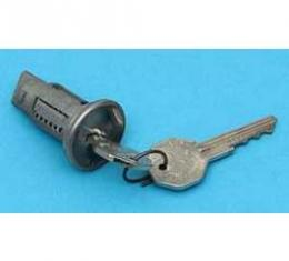 Full Size Chevy Ignition Lock Cylinder, With Original Style Keys, 1966-1967