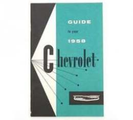 Full Size Chevy Owner's Manual, 1958