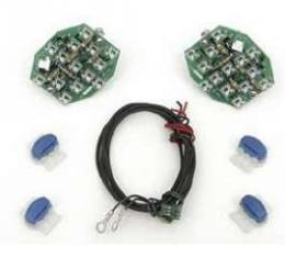 Full Size Chevy Taillight Conversion Kit, LED, 1963-1965