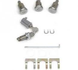 Full Size Chevy Complete Lock Set, 2-Door Hardtop & Convertible, 1961-1962