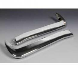Full Size Chevy Bumper Guards, Front Accessory, 1965