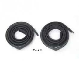 Full Size Chevy Roofrail Weatherstrip, 2-Door Fastback, 1967-1968