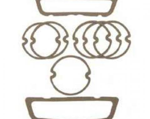 Full Size Chevy Parking Light & Taillight Lens Gasket Set, 1960