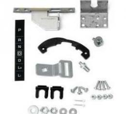 Full Size Chevy Automatic Transmission Shifter Conversion Kit, Powerglide To TH700R4, 1964