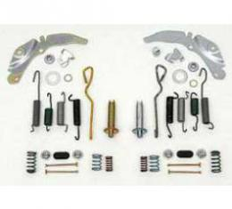 Full Size Chevy Self-Adjusting Drum Brake Kit, Front, 1959-1970