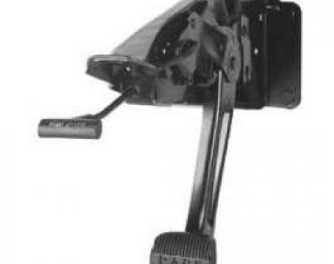 Full Size Chevy Parking Brake Assembly, 1964