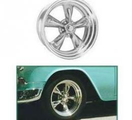 Full Size Chevy Torq-Thrust II Wheel, 17 x 7, American Racing