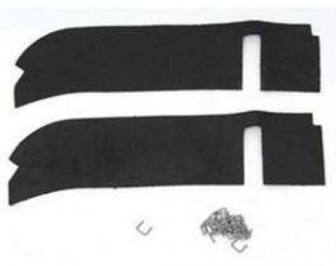 Full Size Chevy Rear Body To Bumper Dust Seals, 1962