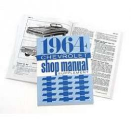 Full Size Chevy Shop Manual Supplement, 1964