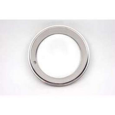 Full Size Chevy Rally Wheel Trim Ring, 15 x 7, With Ring Style Clips,1958-1972