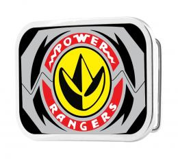 POWER RANGERS Dragonzord Morpher FCG - Chrome Rock Star Buckle