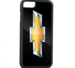Rubber Cell Phone Case - BLACK - Chevy Bowtie FCG Black/Gold