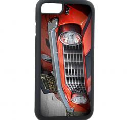 Rubber Cell Phone Case - BLACK - 1969 Camaro Z/28 Front Grill View FCG