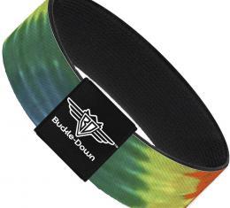 Buckle-Down Elastic Bracelet - BD Tie Dye