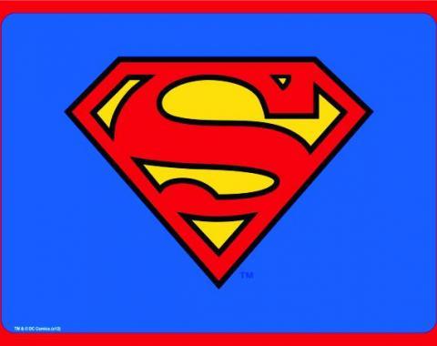 Placemat - Superman Shield Blue