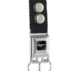 Keychain - Ford Mustang - Black