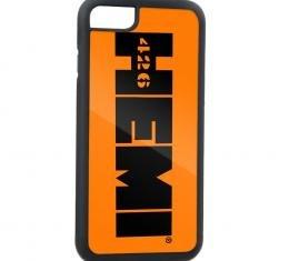 Rubber Cell Phone Case - BLACK - HEMI 426 Logo FCG Orange/Black