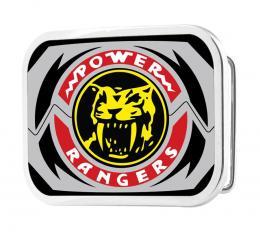 POWER RANGERS Sabertooth Tiger Morpher FCG - Chrome Rock Star Buckle