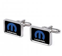Cufflink Set - MOPAR Logo FCG Black/Blue/White