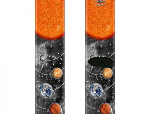 Sock Pair - Polyester - Solar System Sun/Planets/Stars - CREW