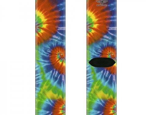 Sock Pair - Polyester - BD Tie Dye13 - CREW