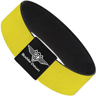 Buckle-Down Elastic Bracelet - Yellow