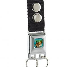 Keychain - Scooby & Shaggy BAKED Full Color Turquoise/Green