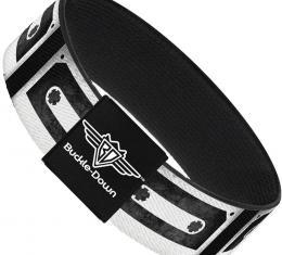 Buckle-Down Elastic Bracelet - DC Cassette Tape